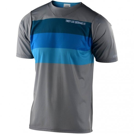 Camisola TROY LEE DESIGNS Skyline Air Continental Gray / Blue
