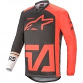 Racer Compass Anthracite / Red Fluo / White