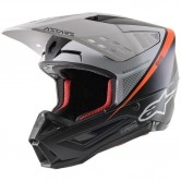 ALPINESTARS S-M5 Rayon Black / White / Orange Fluo