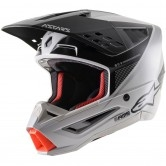 ALPINESTARS S-M5 Rayon Light Gray / Black / Silver
