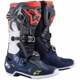 Tech 10 Dark Gray / Dark Blue / Red Fluo