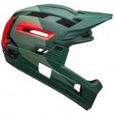 BELL Super Air R Mips Matte - Gloss Green / Infrared
