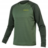 Singletrack L/S Forest Green
