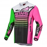 Racer Compass Junior Black / Green Neon / Fluorescent Pink