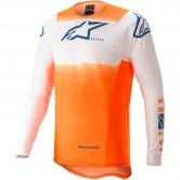 Supertech Foster White / Orange / Dark Blue