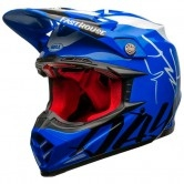 Moto-9 Flex Fasthouse Did Blue / White / Black