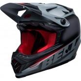 Moto-9 MIPS Junior Glory Black / Gray / Crimson