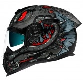 SX.100R Abisal Black / Red Matt